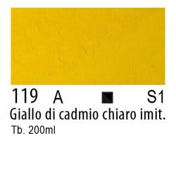 119 - W&N Olio Winton Giallo di cadmio chiaro imitazione