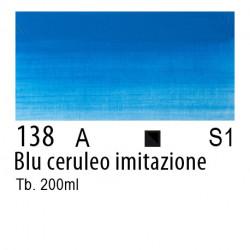 138 - W&N Olio Winton Blu ceruleo imitazione
