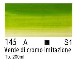 145 - W&N Olio Winton Verde di cromo imitazione