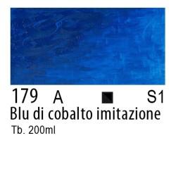 179 - W&N Olio Winton Blu di cobalto imitazione