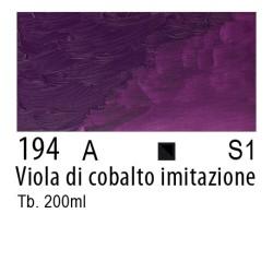 194 - W&N Winton Viola di cobalto imitazione