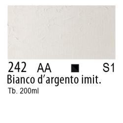 242 - W&N Winton Bianco d'argento imitazione