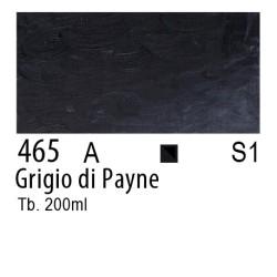 465 - W&N Olio Winton Grigio di Payne