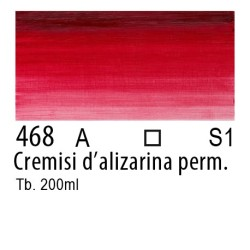 468 - W&N Olio Winton Cremisi d'alizarina permanente