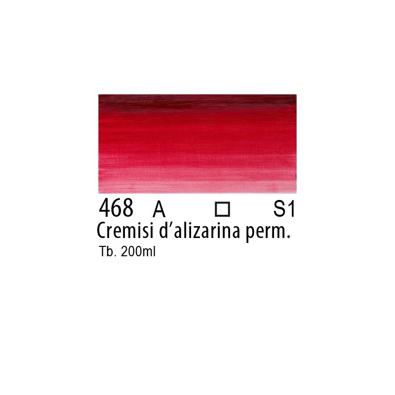 468 - W&N Winton Cremisi d'alizarina permanente