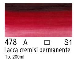 478 - W&N Winton Lacca cremisi permanente