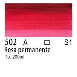 502 - W&N Olio Winton Rosa permanente