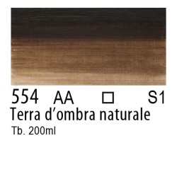 554 - W&N Olio Winton Terra d'ombra naturale