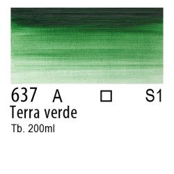 637 - W&N Olio Winton Terra verde