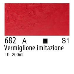 682 - W&N Winton Vermiglione imitazione