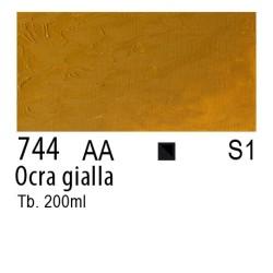 744 - W&N Winton Ocra gialla