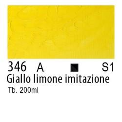346 - W&N Olio Winton Giallo limone imitazione