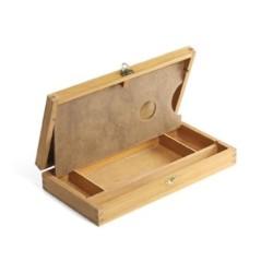 Cassetta Portacolori in legno piccola, CM.16X32X5H