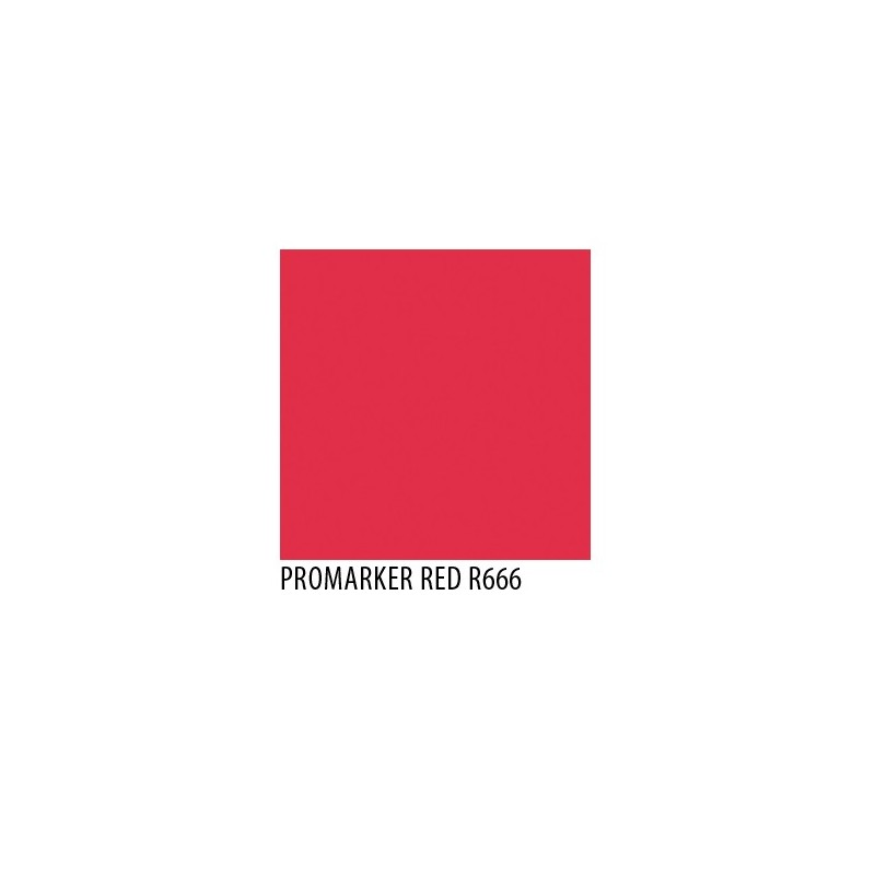 Promarker red r666