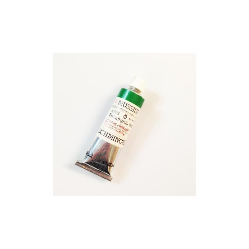 522 - Mussini verde cobalto chiaro