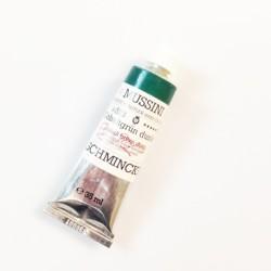 523 - Mussini verde cobalto scuro