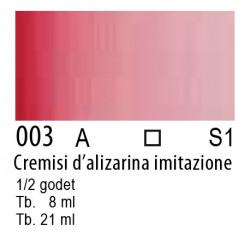 003 - W&N Cotman Cremisi d'alizarina imit.