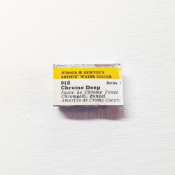 012E - W&N Professional Giallo di Cromo scuro