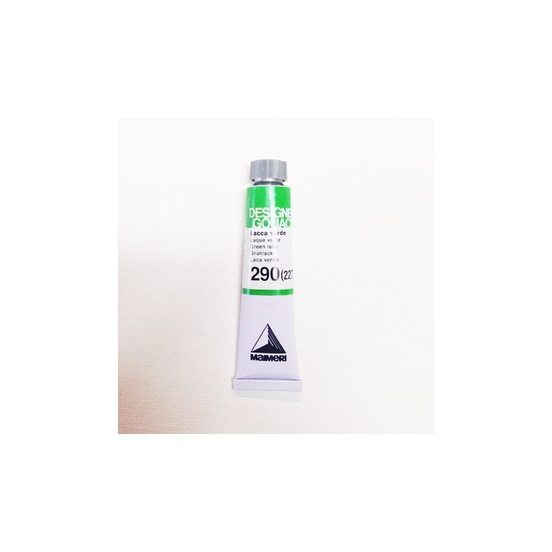 290 (227) - Maimeri Gouache Lacca verde