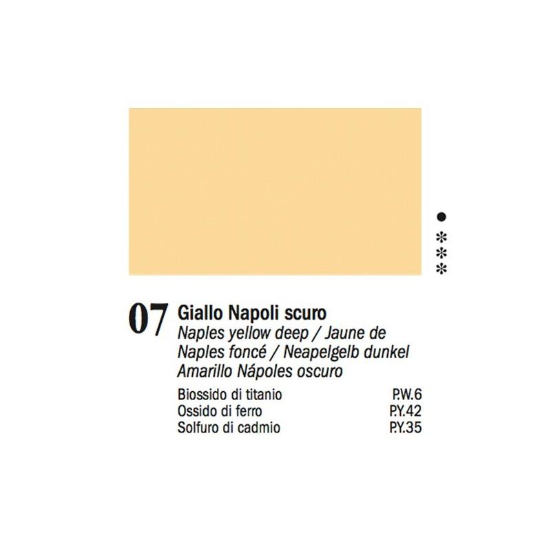 07 - Ferrario Olio Van Dyck Giallo di Napoli scuro