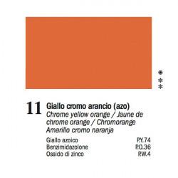 11 - Ferrario Olio Van Dyck Giallo cromo arancio - tubo 60ml