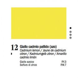 12 - Ferrario Olio Van Dyck Giallo cadmio pallido - tubo 60ml