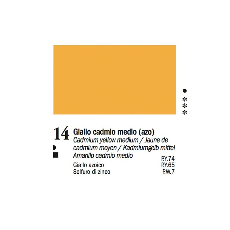 14 - Ferrario Olio Van Dyck Giallo cadmio medio