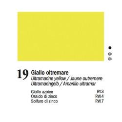 19 - Ferrario Olio Van Dyck Giallo oltremare - tubo 60ml