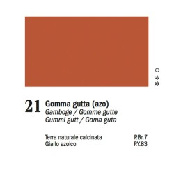 21 - Ferrario Olio Van Dyck Gommagutta - tubo 60ml