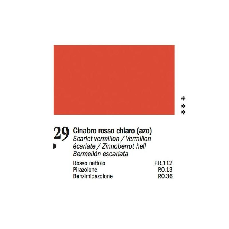29 - Ferrario Olio Van Dyck Rosso cinabro chiaro