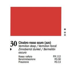 30 - Ferrario Olio Van Dyck Rosso cinabro scuro - tubo 60ml