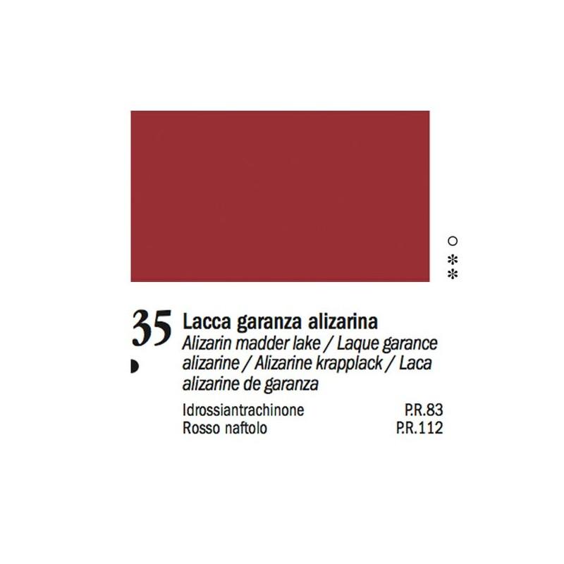 35 - Ferrario Olio Van Dyck Lacca garanza alizarina