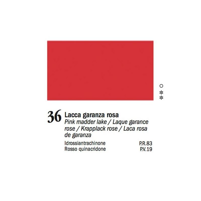 36 - Ferrario Olio Van Dyck Lacca garanza rosa