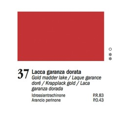 37 - Ferrario Olio Van Dyck Lacca garanza dorata - tubo 60ml