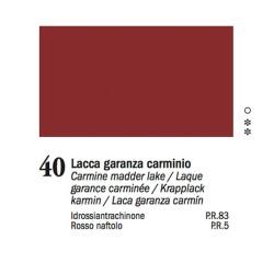 40 - Ferrario Olio Van Dyck Lacca garanza carminio
