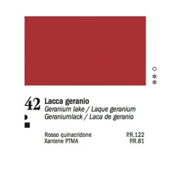 42 - Ferrario Olio Van Dyck Lacca geranio - tubo 60ml