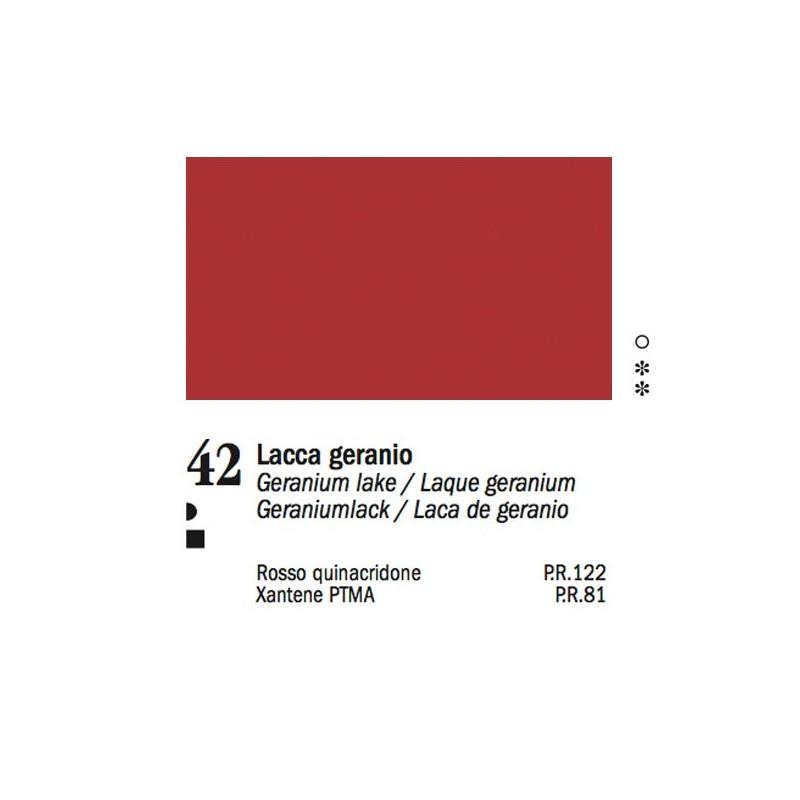 42 - Ferrario Olio Van Dyck Lacca geranio