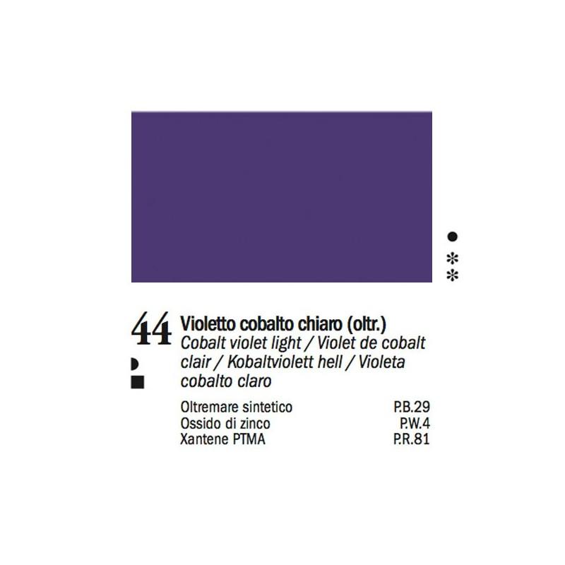 44 - Ferrario Olio Van Dyck Violetto cobalto chiaro