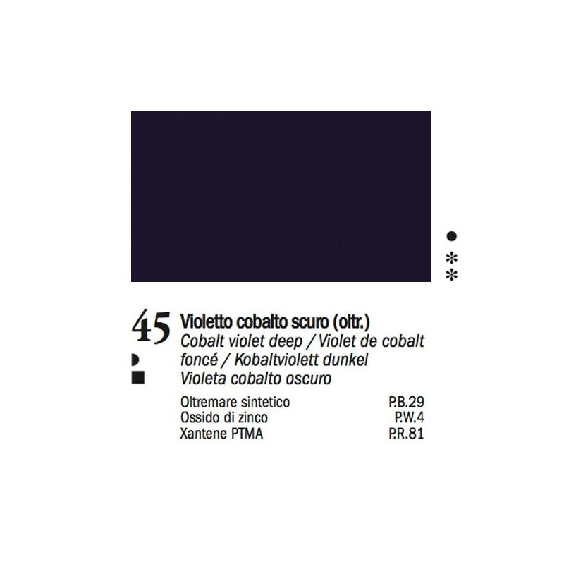 45 - Ferrario Olio Van Dyck Violetto cobalto scuro