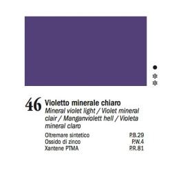 46 - Ferrario Olio Van Dyck Violetto minerale chiaro - tubo 60ml
