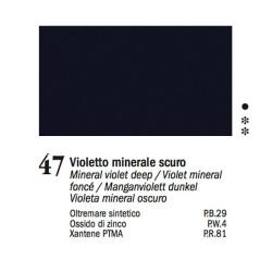 47 - Ferrario Olio Van Dyck Violetto minerale scuro - tubo 60ml