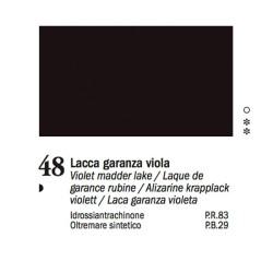 48 - Ferrario Olio Van Dyck Lacca garanza viola - tubo 60ml
