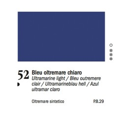 52 -Ferrario Olio Van Dyck Blu oltremare chiaro - tubo 60ml