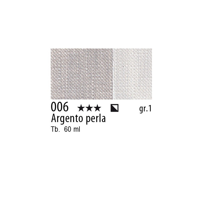 006 - Maimeri Brera Acrylic Argento perla