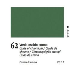 62 -Ferrario Olio Van Dyck Verde ossido di cromo - tubo 60ml