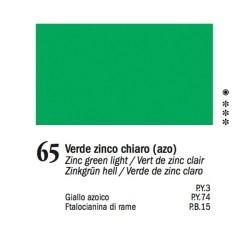 65 -Ferrario Olio Van Dyck Verde zinco chiaro - tubo 60ml