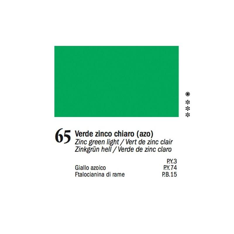 65 -Ferrario Olio Van Dyck Verde zinco chiaro