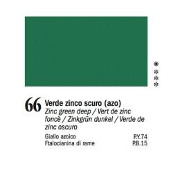 66 - Ferrario Olio Van Dyck Verde zinco scuro - tubo 60ml
