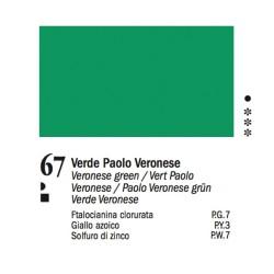 67 - Ferrario Olio Van Dyck Verde Paolo Veronese - tubo 60ml