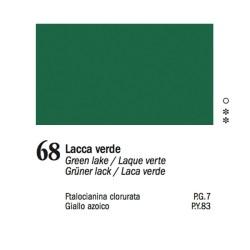 68 - Ferrario Olio Van Dyck Lacca verde - tubo 60ml